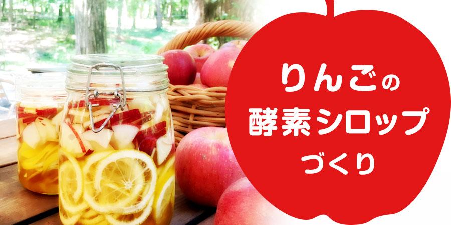 りんごの酵素シロップ ワークショップ