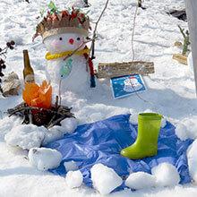 雪だるまコンテスト