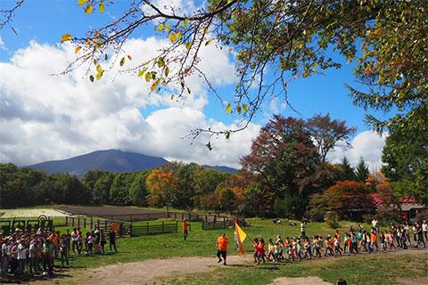 2日目は、秋晴れの大運動会